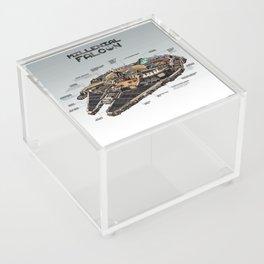 Millennial Falcon Acrylic Box