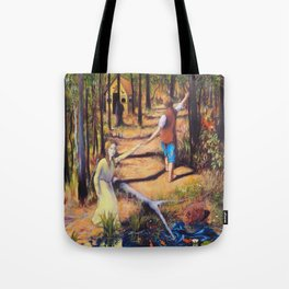 Hansel and Gretel Tote Bag