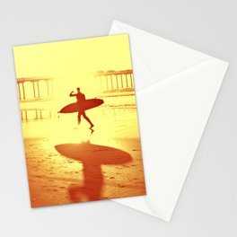 The Shadow Surfer Stationery Cards