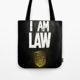 I Am the Law - Judge Dredd Tote Bag