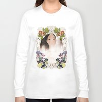 pocahontas Long Sleeve T-shirts featuring Disney: POCAHONTAS  by AlyBee