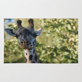 Dreamy eyes giraffe Rug