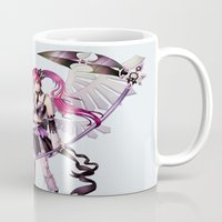 lolita Mugs featuring Dark lolita by clayscence
