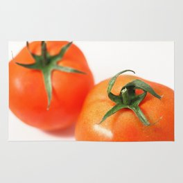 Two tomatoes Rug