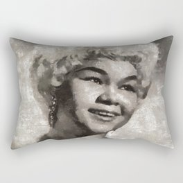 Etta James by MB Rectangular Pillow