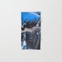 Blue Lightning Hand & Bath Towel