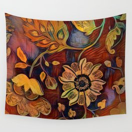 Richness of Color Wall Tapestry
