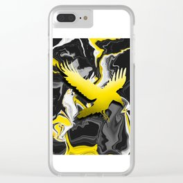 Yellow ||-// Clear iPhone Case