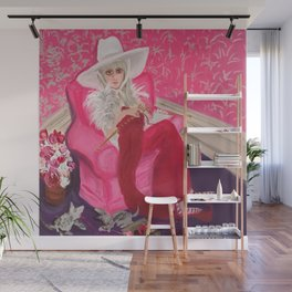 """miu miu, tuesday around 4 ish"" Wall Mural"