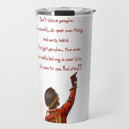 Positive Attitude Travel Mug