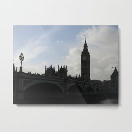 Big Ben in Early Light Metal Print