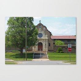 Monastery of the Visitation Canvas Print