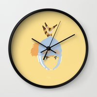 1984 Wall Clocks featuring Nausicaä, 1984 by Jarvis Glasses