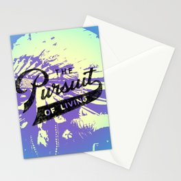 The pursuit of living. Native Indian. photo shoot Stationery Cards