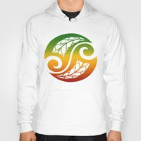 reggae Hoodies featuring Reggae Poloneisan by Lonica Photography & Poly Designs