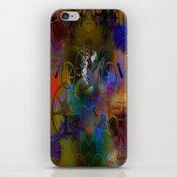 steam punk iPhone & iPod Skins featuring Steam Punk by Robin Curtiss