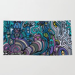THE AFTERPARTY Beach Towel