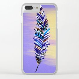 Feather Phone Caes Clear iPhone Case