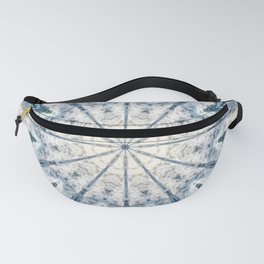 Beautiful abstract kaleidoscope of surf Fanny Pack