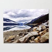 canada Canvas Prints featuring Canada by amberino