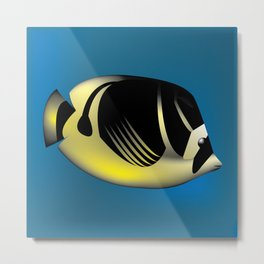 Angelfish Metal Print