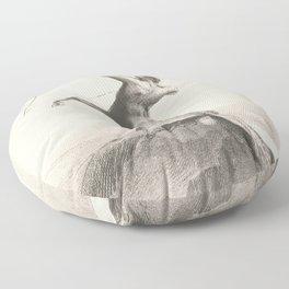"""Odilon Redon """"Centaur focuses on the sky"""" Floor Pillow"""