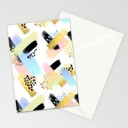 Retro Brush Stationery Cards