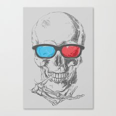 3Death Canvas Print