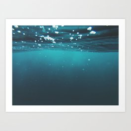 Enter Sea Art Print