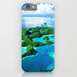 70 Wild Islands Palau iPhone Case