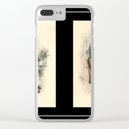 Victorian Dress 17 Clear iPhone Case