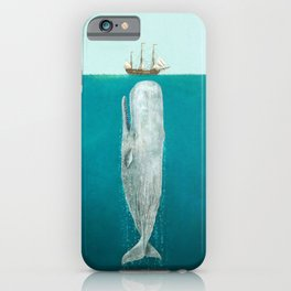 The Whale - Full Length  iPhone Case