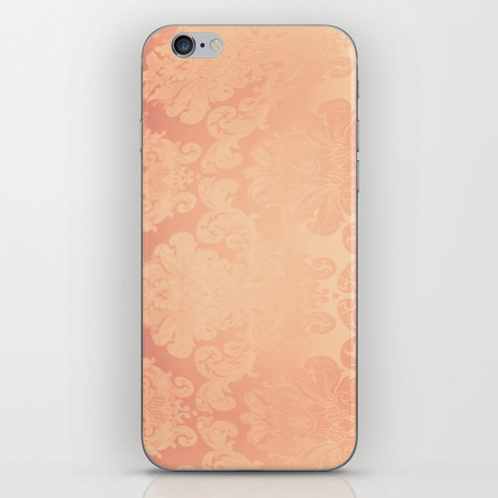 Pink Rose Vintage iPhone Skin