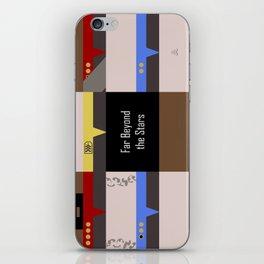 DS9 - Far Beyond the Stars - Minimalist Star Trek DS9 Deep Space Nine - startrek - Trektangles iPhone Skin