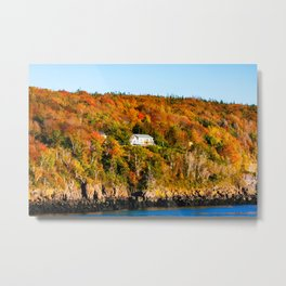 Fall in Nova Scotia. Canada. Metal Print