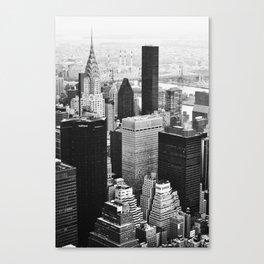 50 Shades of NY Canvas Print