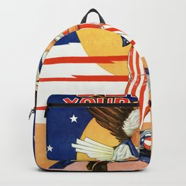 Defend your country Backpack