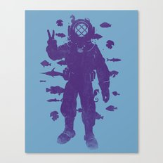 peace under water Canvas Print