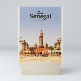 Visit Senegal Mini Art Print