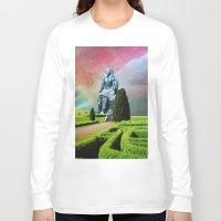 egypt Long Sleeve T-shirts featuring Modern Egypt by John Turck