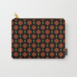 Dollar Sign Graphic Pattern Carry-All Pouch