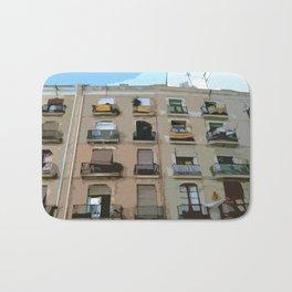 Barcelona Building  Bath Mat