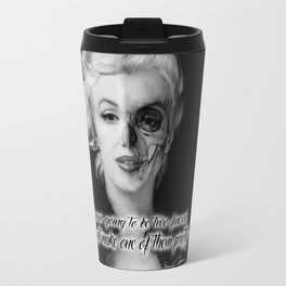Two Face. Marilyn Quote Travel Mug