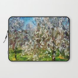 Almond Orchard Blossom Laptop Sleeve