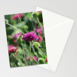intense pink - beautiful wildflower Stationery Cards