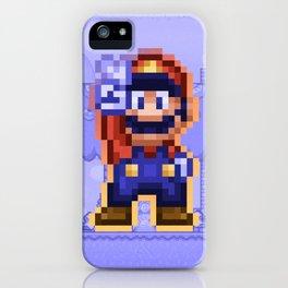 Peace Mario iPhone Case