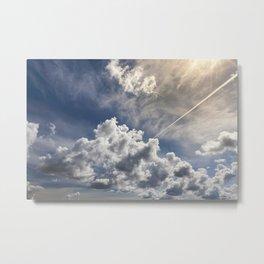 huge cumulus clouds Metal Print