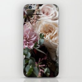 Large floral bouquet - Dahlia and Rose I iPhone Skin