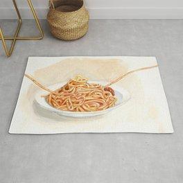 Pasta love Rug