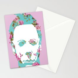 Halloween Floral Michael Myers Stationery Cards